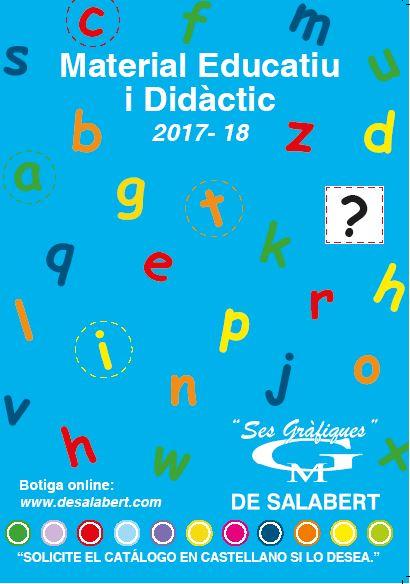 Catálogo escolar juego  educativo y didáctico  2016 2017 (catalán)