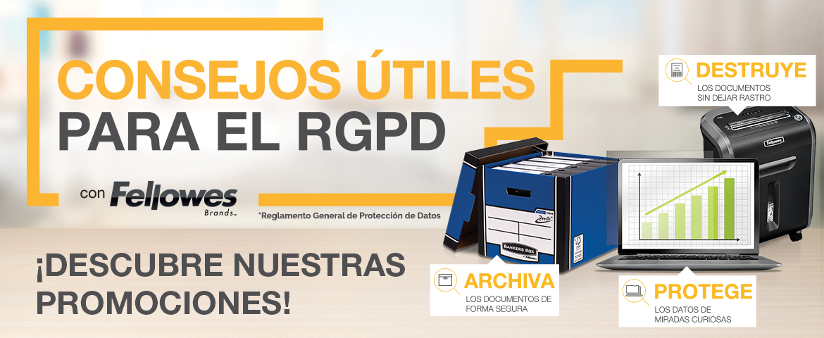 fellowes promociones proteccion datos junio 2018