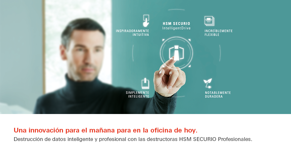 Destructoras HSM Securio Intellignet Drive