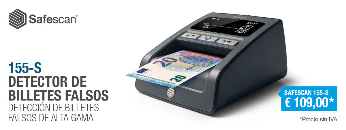 Safescan detectora billetes falsos 155 noviembre 2018